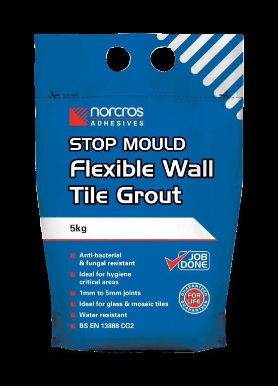 14 Norcros Stop Mould Flexible Wall Tile Grout