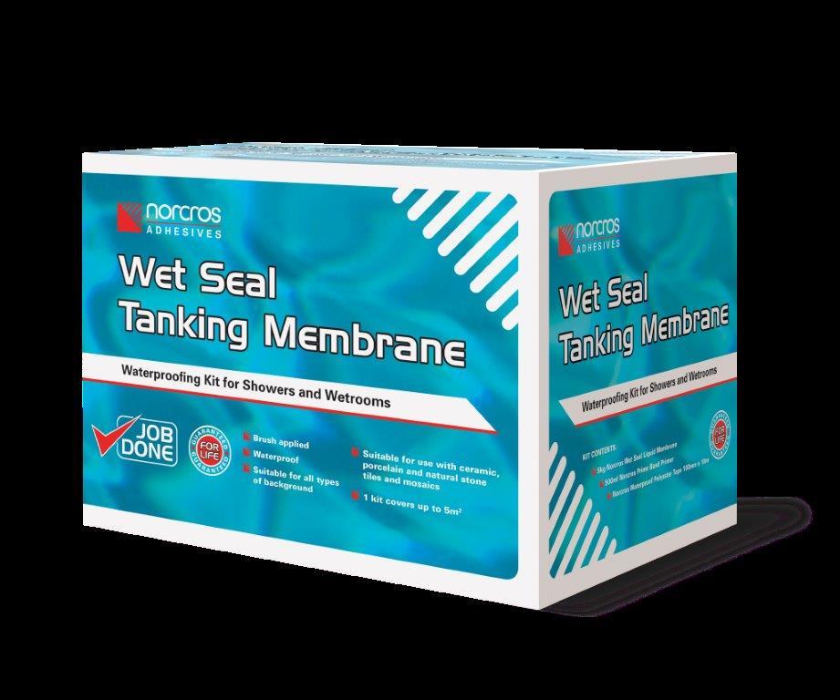 19 Norcros Wet Seal Tanking Kit Box