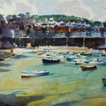 Mousehole watercolour