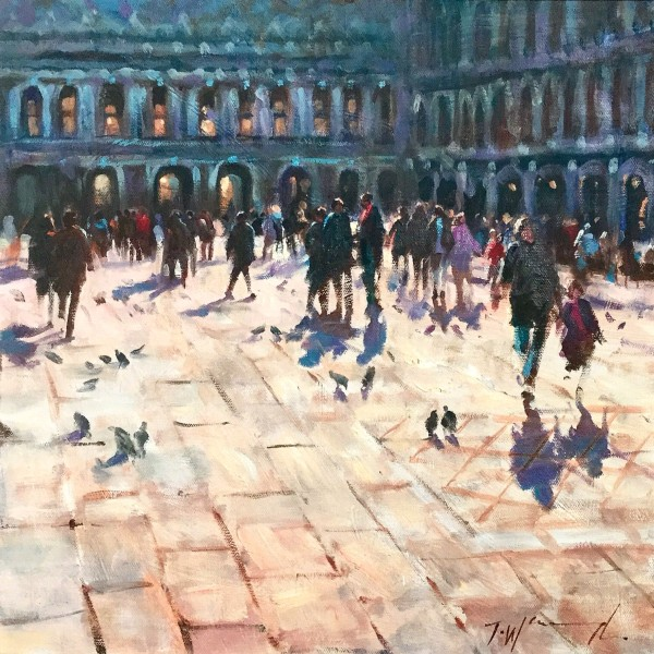 st marks venice, original art by Trevor Waugh