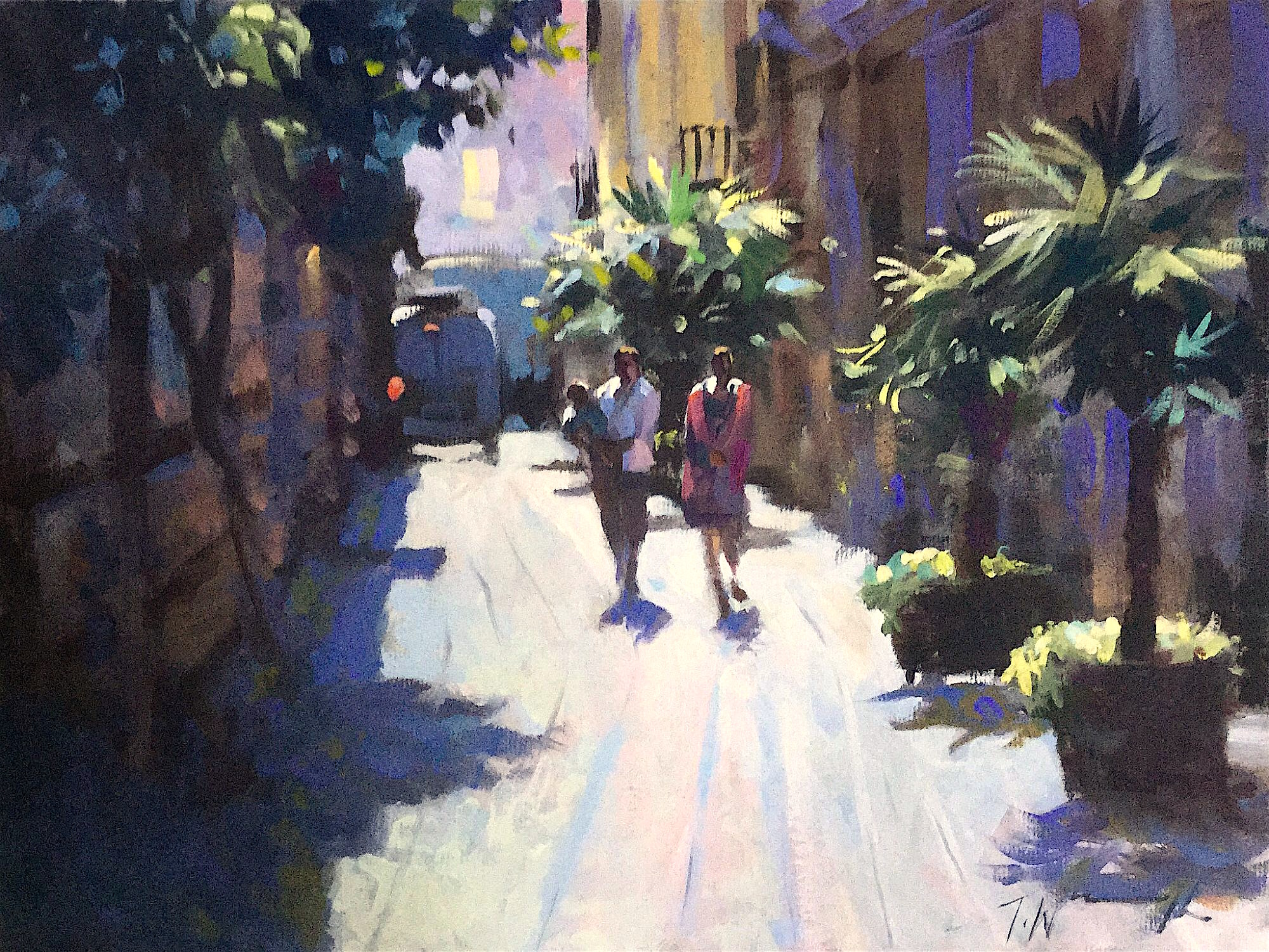 valencia, original art by Trevor Waugh