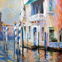 venetian, original art by Trevor Waugh