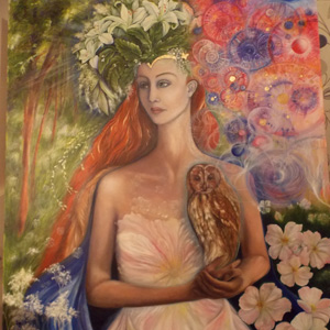 mystical mythical paintings