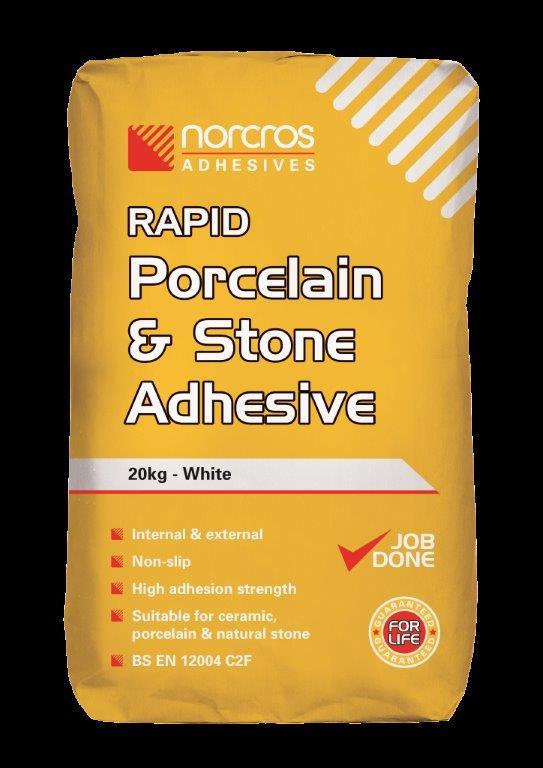 8 Norcros Rapid Porcelain & Stone Adhesive
