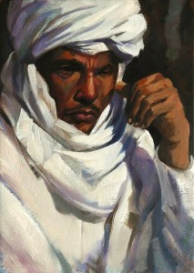 arab painting by Trevor Waugh