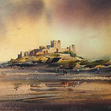 Trevor Waugh fine art painter Landscapes